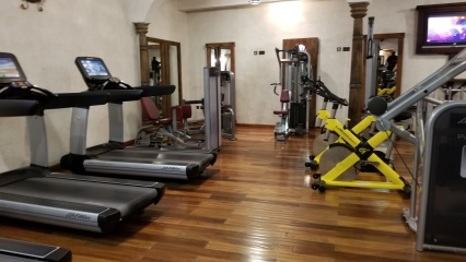 Ladies only cardio section at the Ritz Carlton Sharq Village