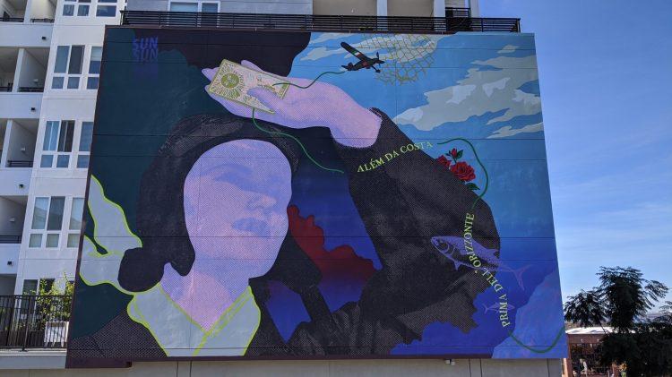 A mural in San Diego