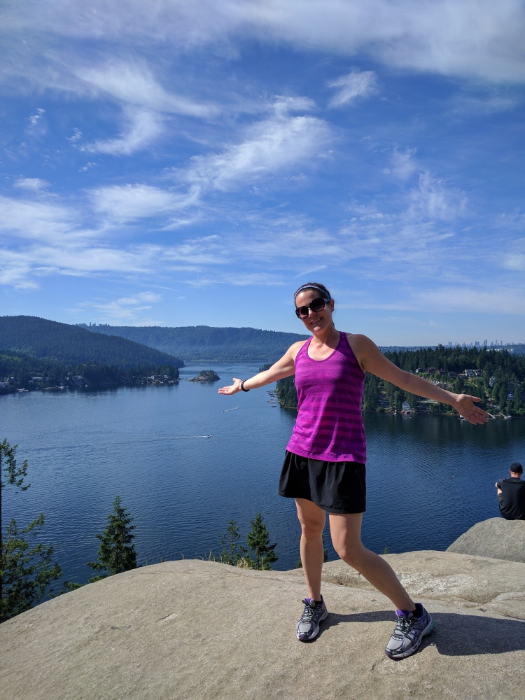Top of Quarry Rock