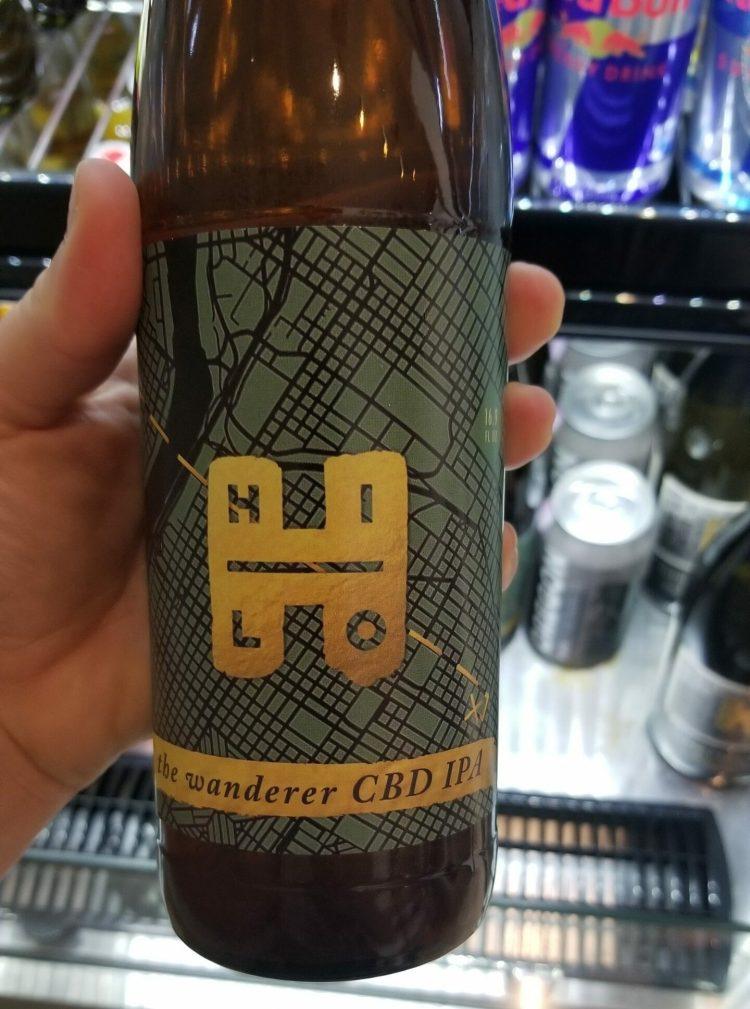 Hi-Lo CBD Wanderer IPA bottle