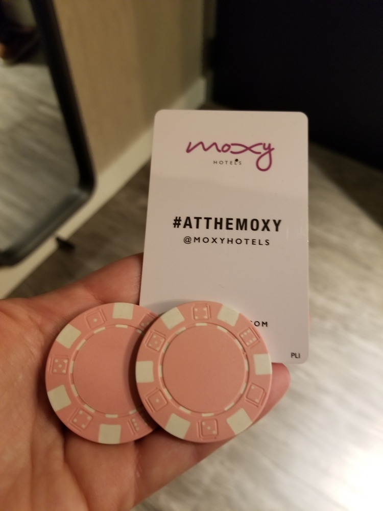 Drink tokens and room key