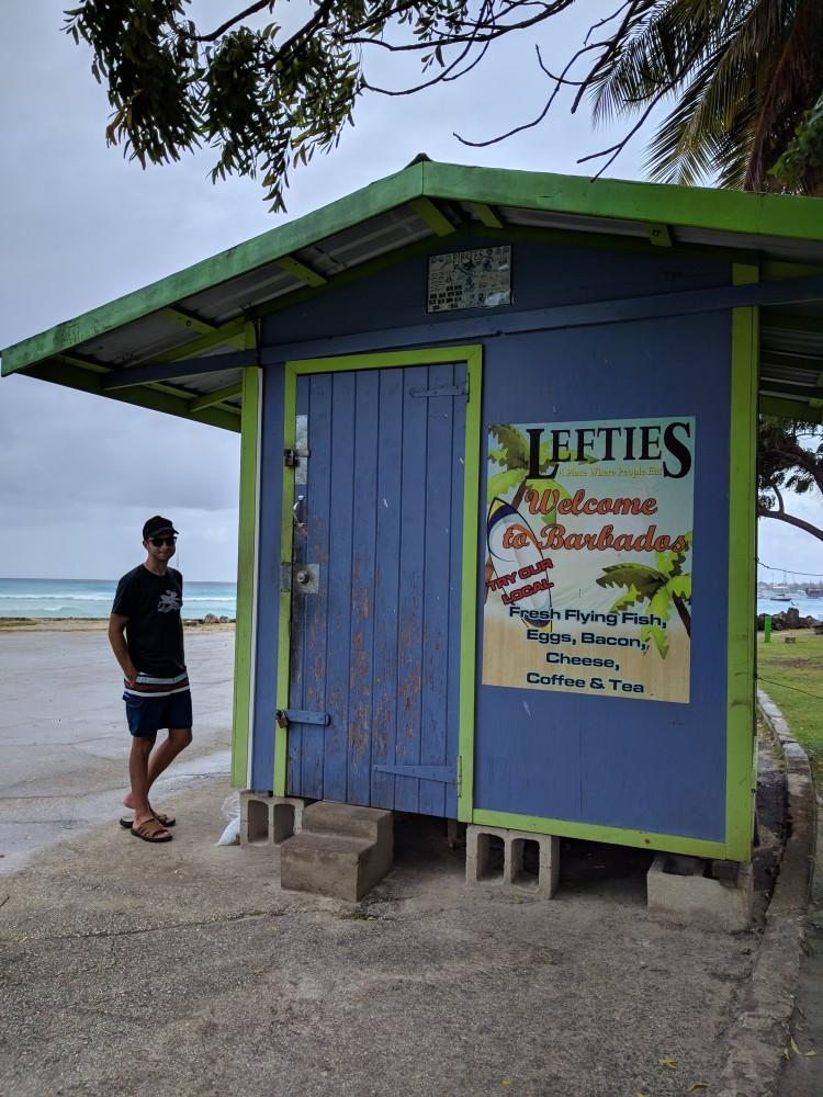 Lefties food stall