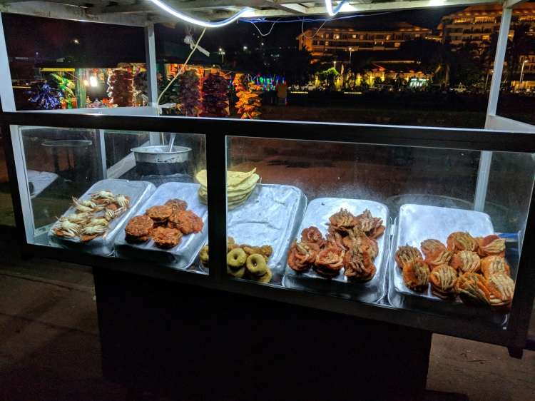 Snacks at the Galle Face Green