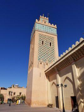 Mosquée Berrima in the Kasbah area