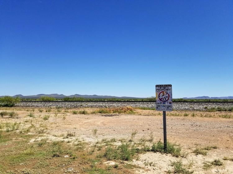 The desert near Marfa