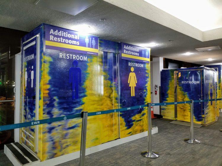 EWR - Newarks bathroom in Terminal A