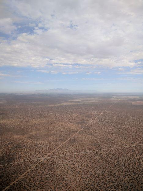 Landing in El Paso