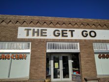 The Get Go, a really neat grocery/beer/wine store in Marfa