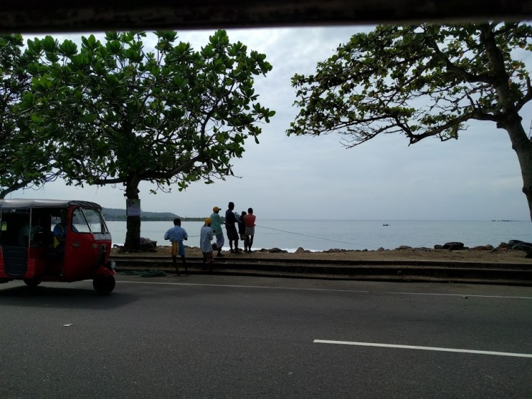 Fisherman in Galle around 09:00