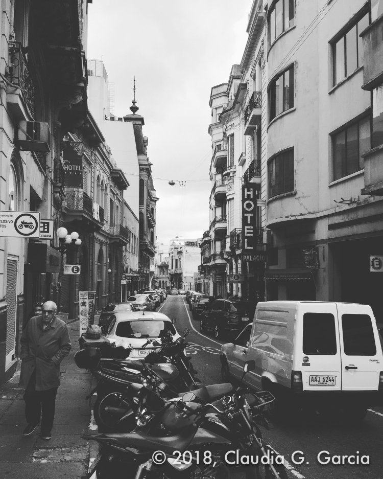 Street Life in Black and White by Claudia G. Garcia