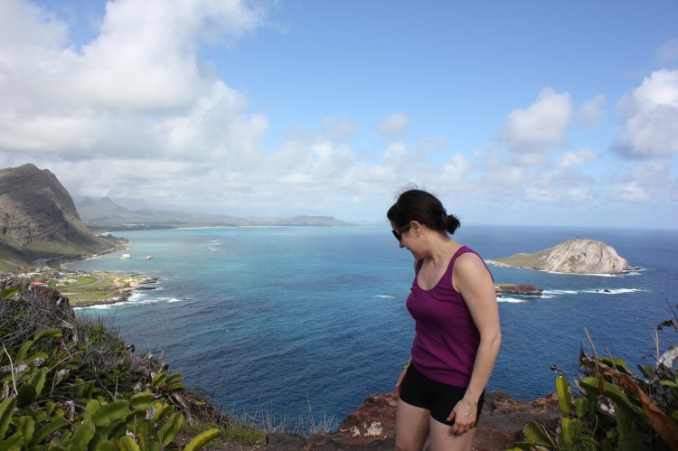 At the end of the Makapuu trail