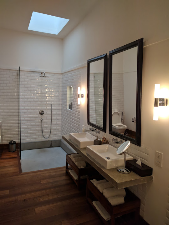 Bathroom in the Upper Suite