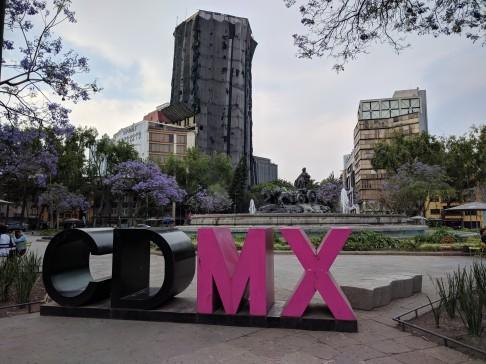 CDMX sign in Condesa