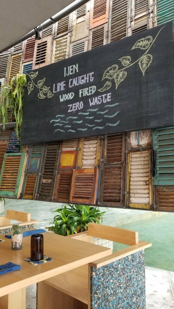 Ijen in Seminyak, Indonesia's first zero waste restaurant