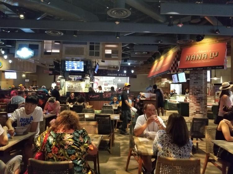 Michael Mina Street Food Hall at International Village in Waikiki