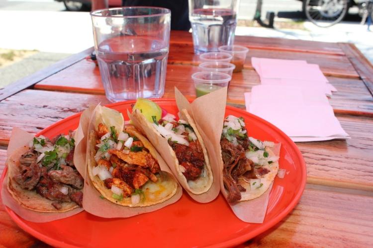 Tacos from Uno Mas