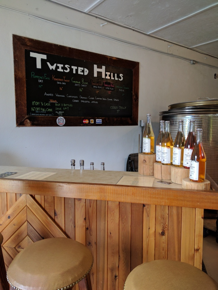 Twisted Hills Cider Tasting Room