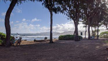 View at the Lava Lava Beach Club Kauai