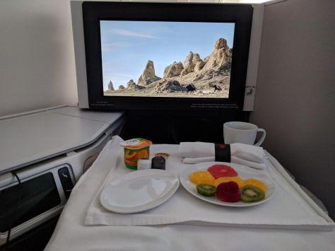 Air Canada Signature Breakfast Starter - Fruit