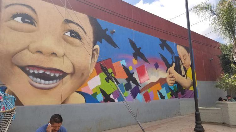 A mural in Tijuana