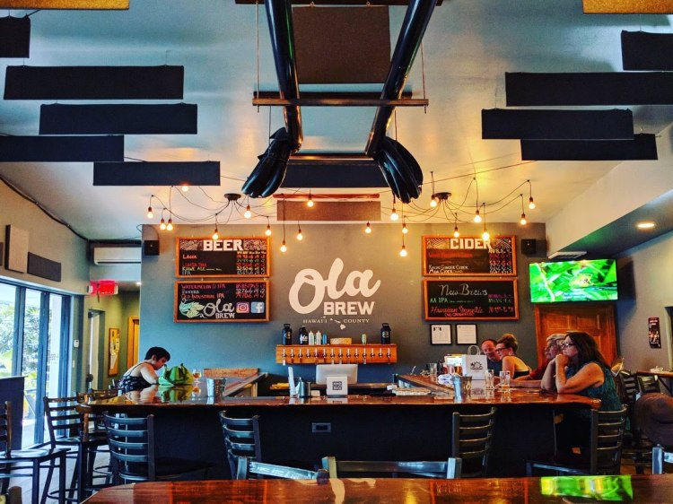 Ola Brew tasting room