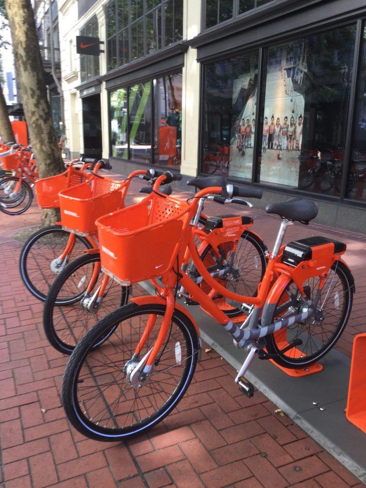 Biketown bike rack