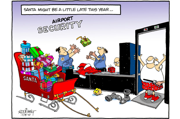 Airport security funny