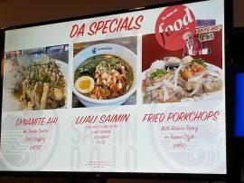 Specials at Saimon Dojo