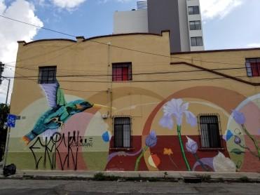 A mural in Guadalajara
