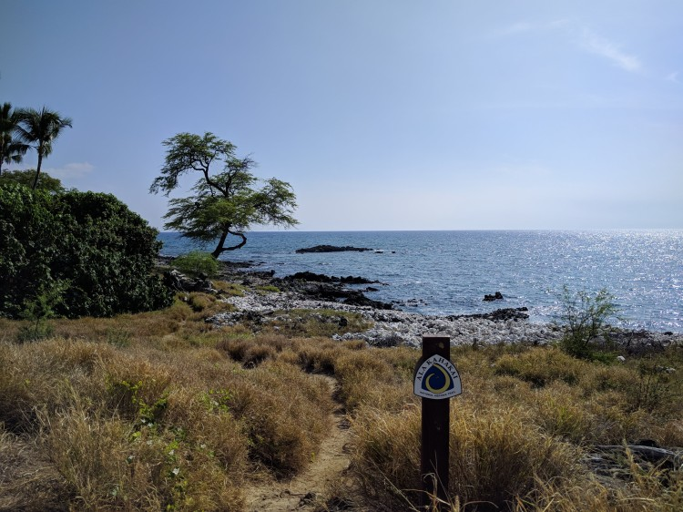 Ala Kahakai Trail sign