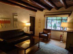 Living area in a suite at La Posada de Santa Fe, a Tribute Portfolio Resort & Spa