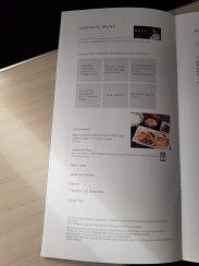 JAL 787 Business Class Menu: NRT-CGK