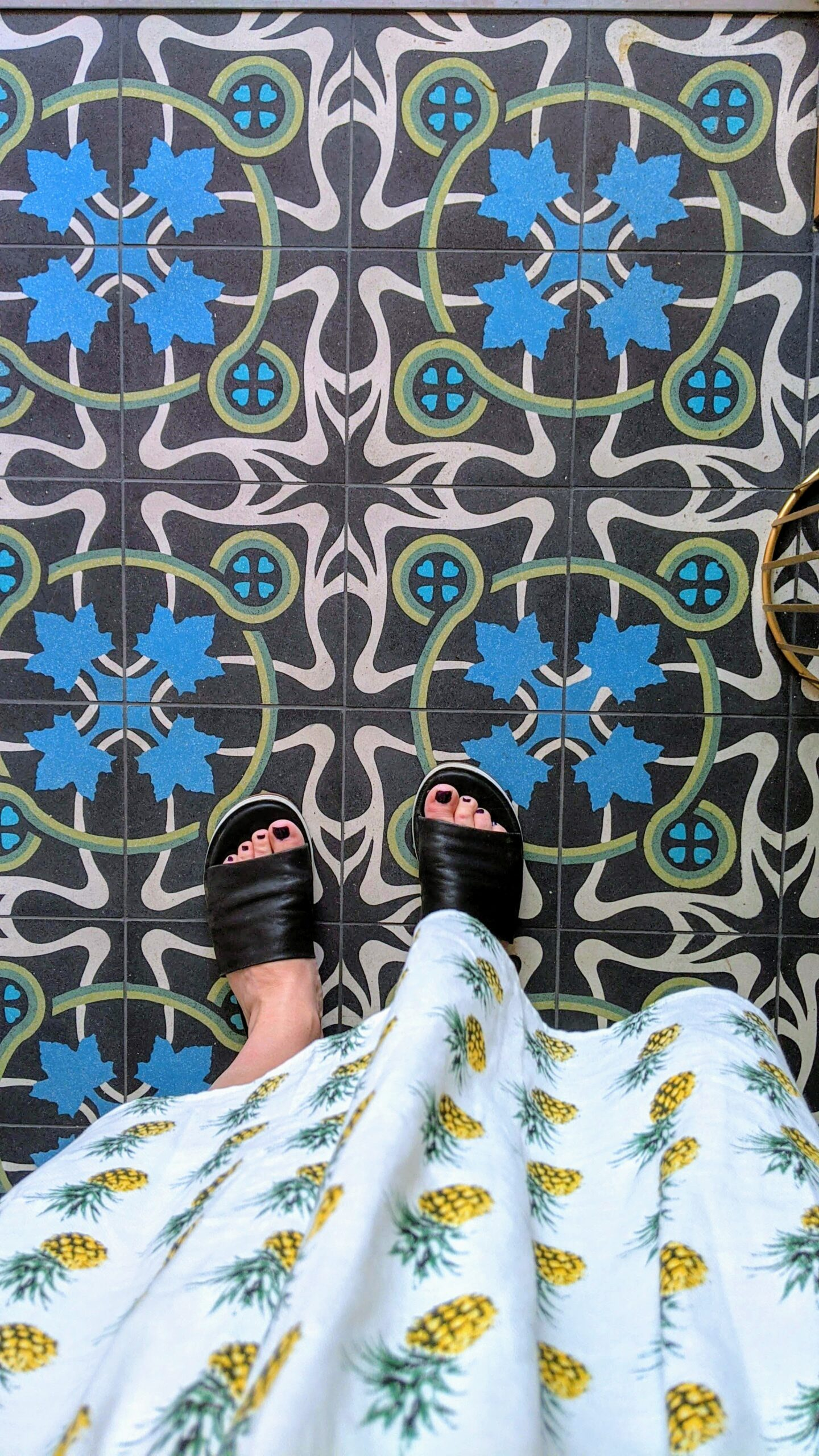 Turkish tiles at Elma
