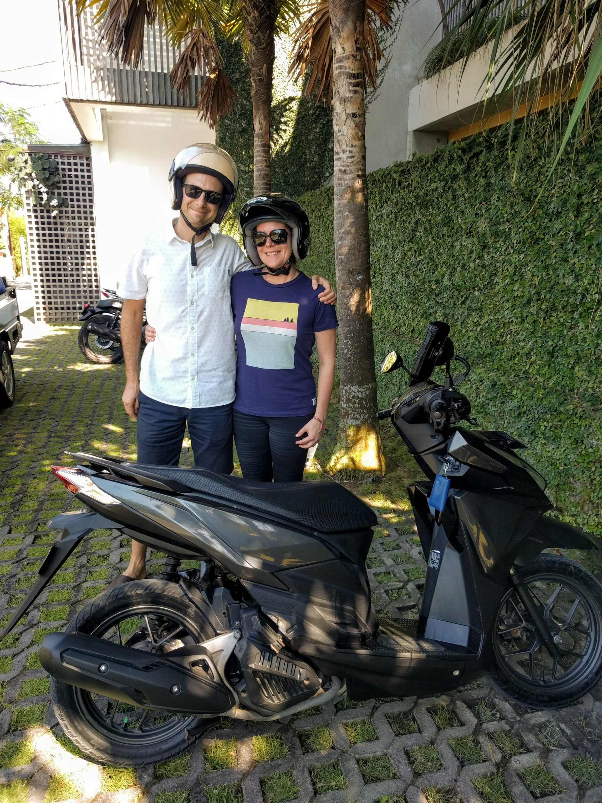 Scooting in Bali!