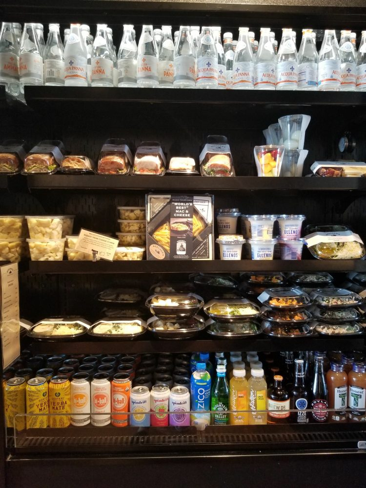 Grab and go for purchase at Beecher's inside PAE- Paine Field