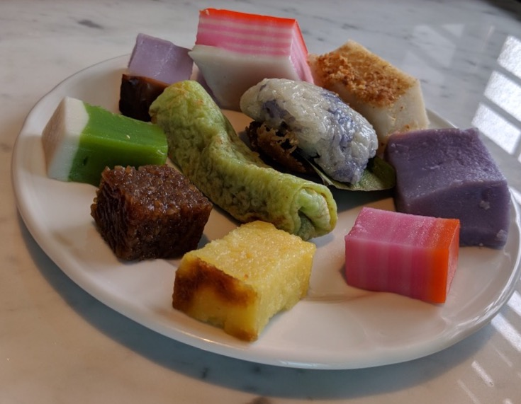 Kuehs served during tea time at The Edison in George Town