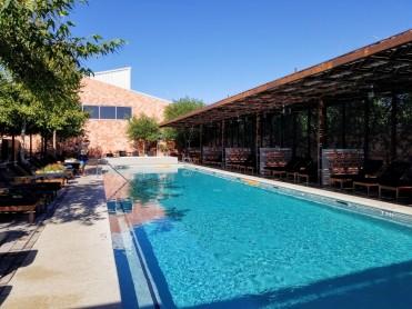 Pool at Bar Nadar in Marfa