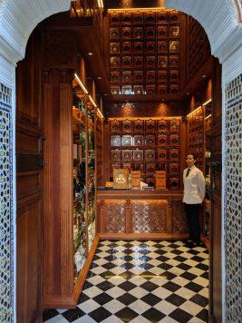 Dar el Bacha Coffee Shop at Musee des Confluences