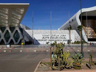 RAK - Menara Marrakech Airport from the outside
