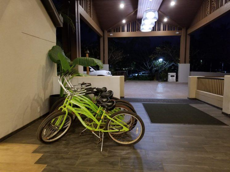 Sheraton Kauai Coconut Beach: cruiser bikes