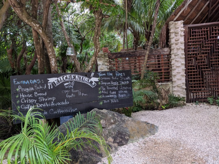 The Kitchen Table restaurant in Tulum - one of the places we'd like to have dinner at