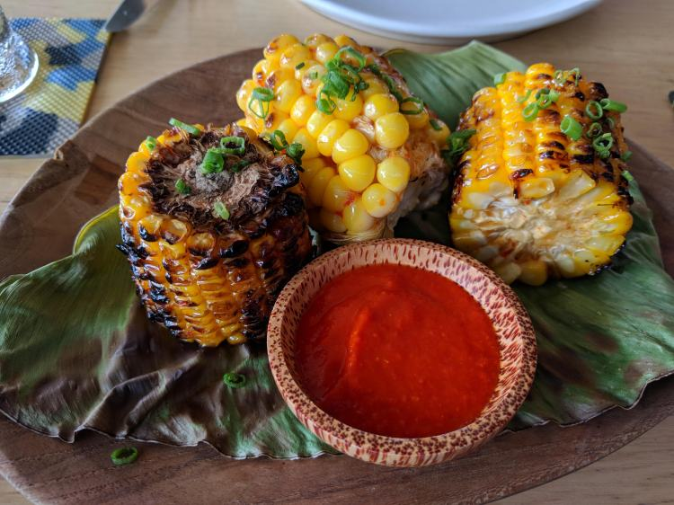Corn at Ijen