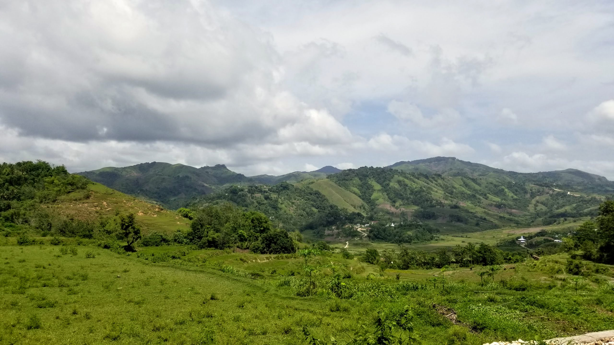 Landscape in Sumba