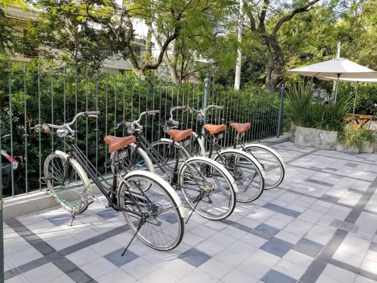 Bikes at Casa Habita in Guadalajara