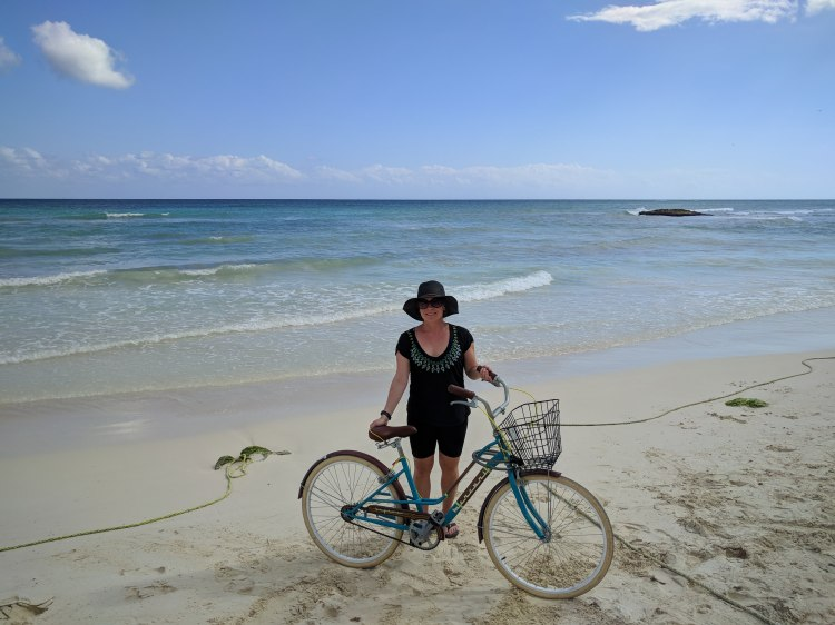 My beach cruiser from iBike in Tulum