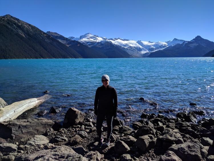 Maxine at Garibaldi Lake
