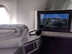 Air Canada Signature Seat and Entertainment