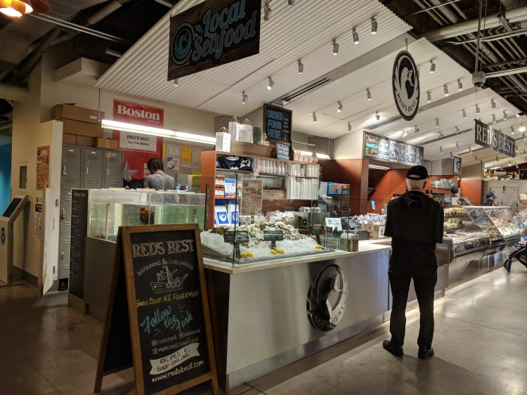 Seafood at the Boston Public Market