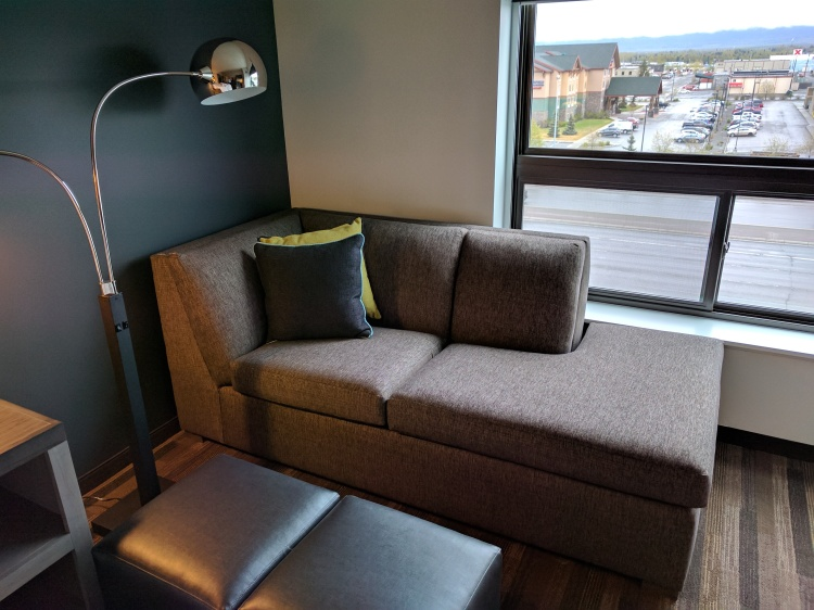 Hyatt House Anchorage Sofa