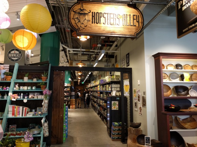 Hopster Alley at the Boston Public Market